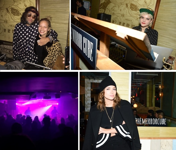 The Mirror Cube Launches With A Blowout Party At Baby's All Right