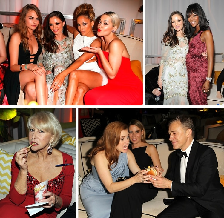 Is Naomi Campbell Pregnant?! & 9 Other Questions Hollywood Raised At The 2015 Golden Globes After Party