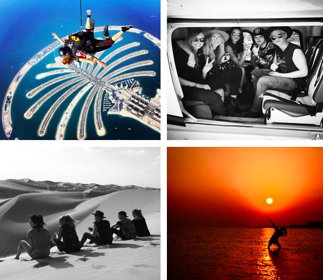 Instagram Round Up: Gigi Hadid, Kendall Jenner & Selena Gomez In Dubai For The Holidays