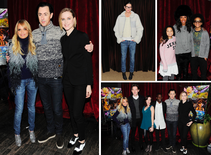 Kristin Chenoweth & Evan Rachel Wood Attend NYC's Screening Of 'Strange Magic'