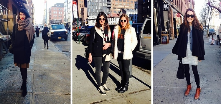 NYC Street Style: Bundling Up In The Meatpacking District