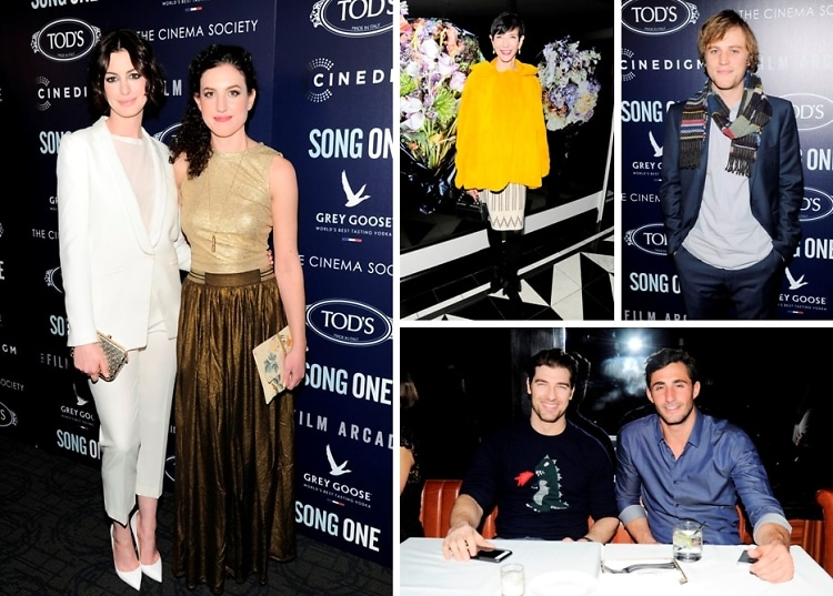 Anne Hathaway Attends Screening Of Her New Film 'Song One' In NYC