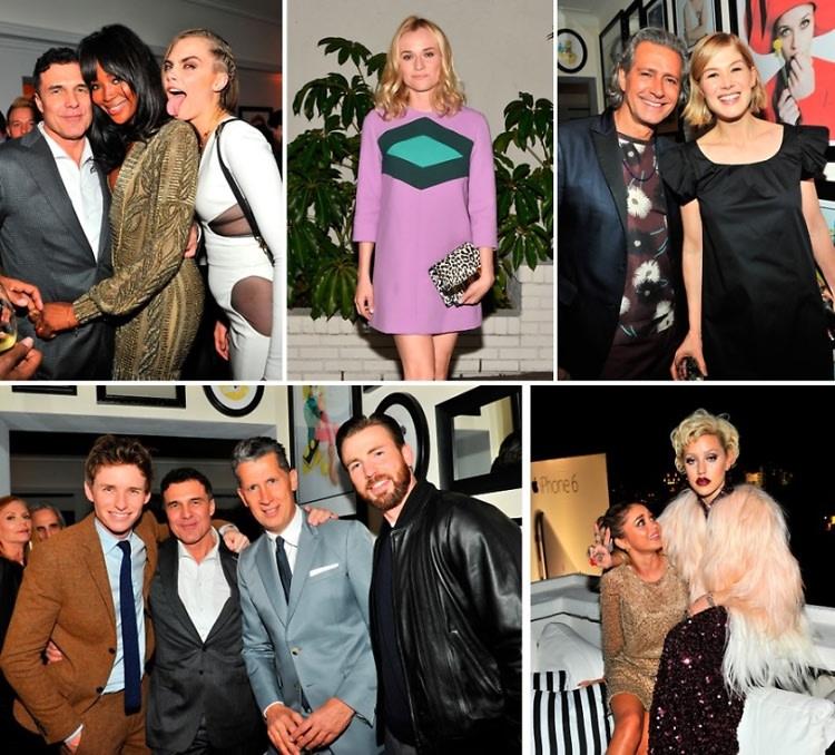 W Magazine Golden Globes
