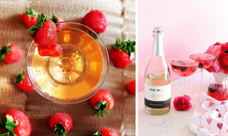 5 Sultry Cocktails (& Then Some!) Perfect For A Valentine's Night In