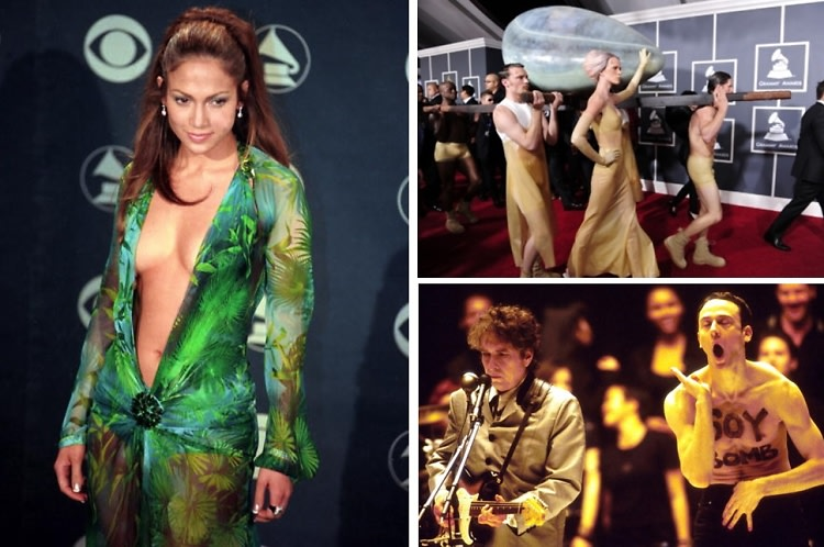 The 5 Weirdest & Most Memorable Moments In Grammy Awards History