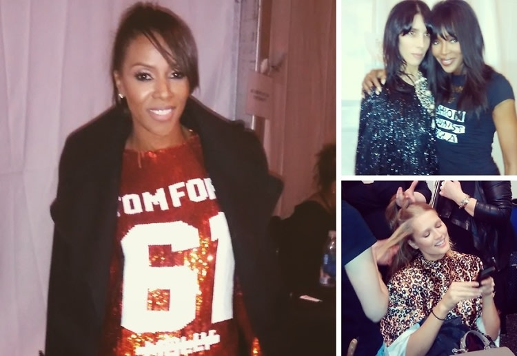 Behind The Scenes: Celebs At Naomi Campbell's Fashion For Relief Charity Show