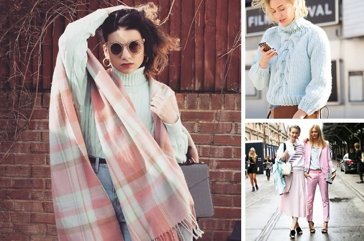 Winter Pastels To Help Your Wardrbobe Transition Into Spring