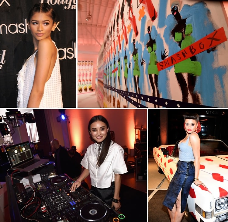 Smashbox Studios Re-Opened With Zendaya & A Donald Robertson Portrait Studio