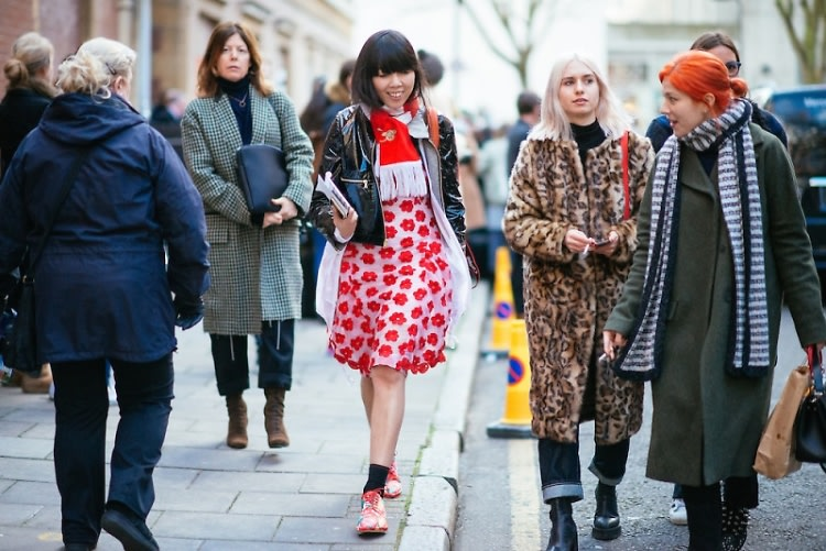 London Fashion Week Street Style: Part 1
