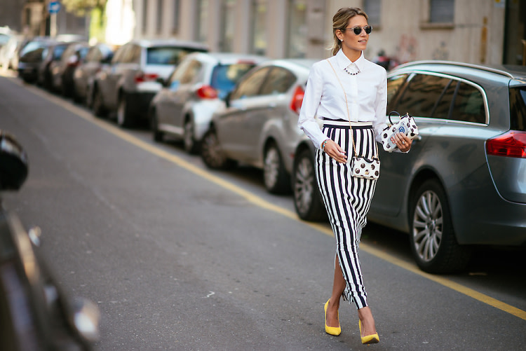 Milan Fashion Week Street Style: Part 3 With Giovanna Battaglia & Helena Bordon