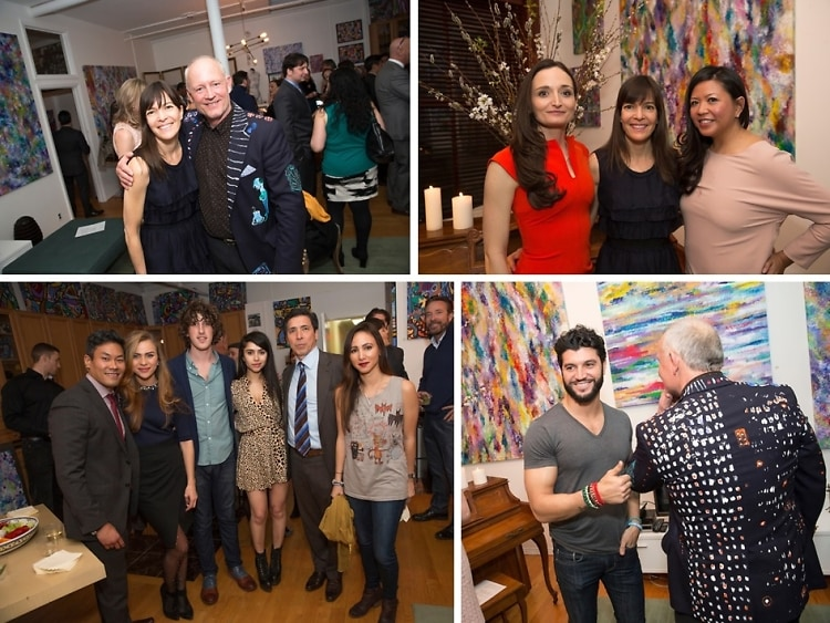 "Inside The Christopher Foundation For The Arts/Galavante ""Art Is Wings"" Event"
