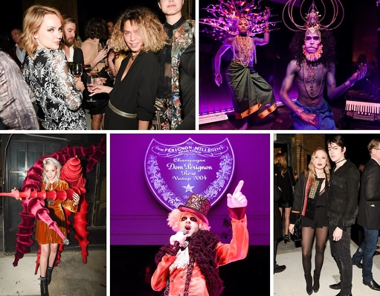 Two-Headed Contortionists & Topless Dancers Star In Dom Pérignon's Surrealist Rosé Cabaret