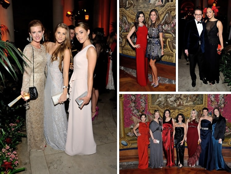 Best Dressed Guests: The Frick Collection Young Fellows Ball 2015