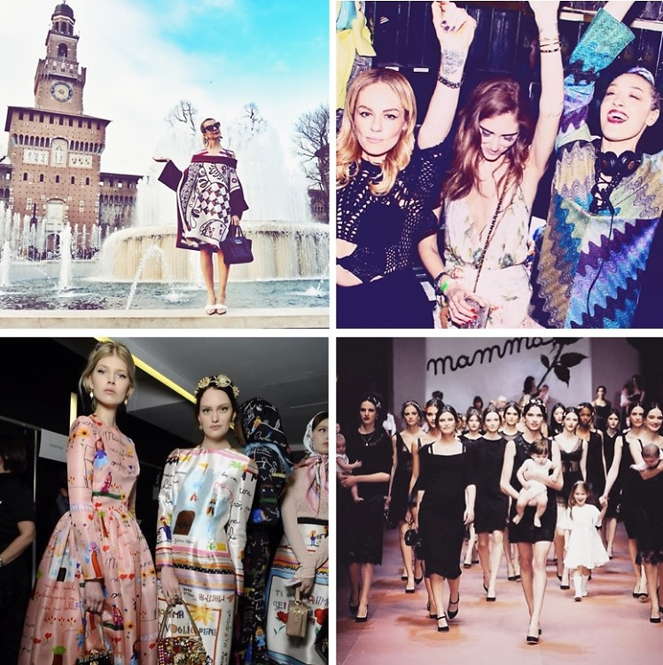 Instagram Round Up: Must-See Moments From Milan Fashion Week