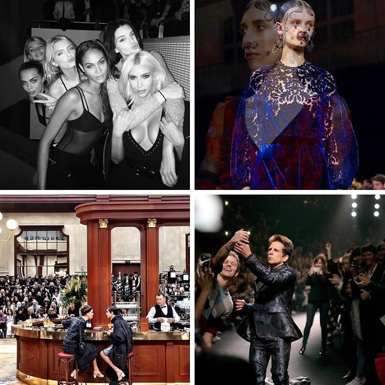 Instagram Round Up: The Best Of Paris Fashion Week AW 2015
