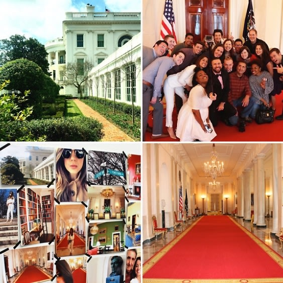 The White House: A Look Behind Closed Doors At Its Worldwide #InstaMeet