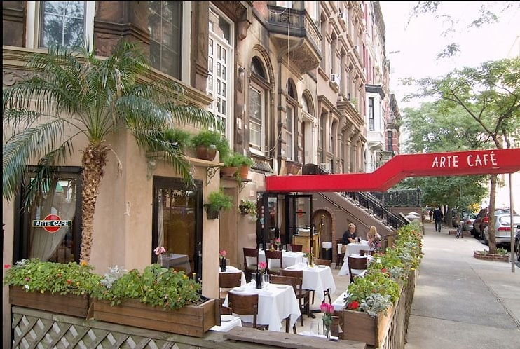 Nyc Date Night Romantic Outdoor Dining On The Upper West Side