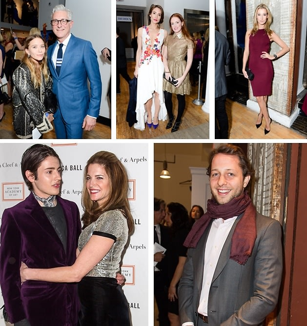 Mary-Kate Olsen & Stephanie Seymour Celebrate Peter M. Brant At The New York Academy Of Art Tribeca Ball
