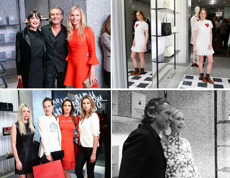 Kelly Rutherford, Sofia Sanchez Barrenechea & Tamara Mellon Toast Carlos Souza's New Book At Valentino!