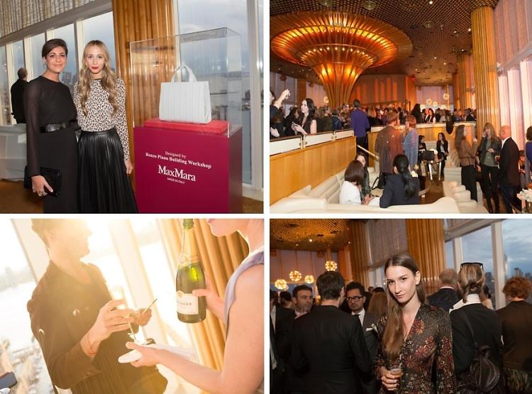 Max Mara Launches The New Whitney Bag, Fabulous Fashion People Celebrate