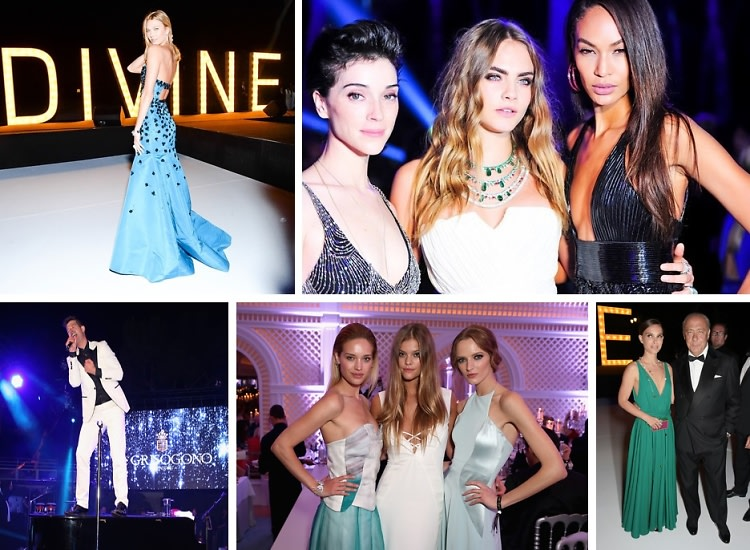 Natalie Portman & Cara Delevingne Are 'Divine In Cannes' With de Grisogono