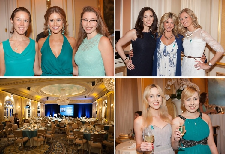 Inside The Ovarian Cancer National Alliance Teal Gala