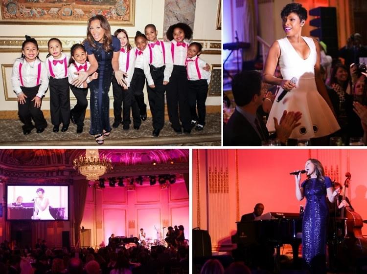 Jennifer Hudson & Vanessa Williams Perform At Boys & Girls Harbor 'Salute to Achievement' Benefit