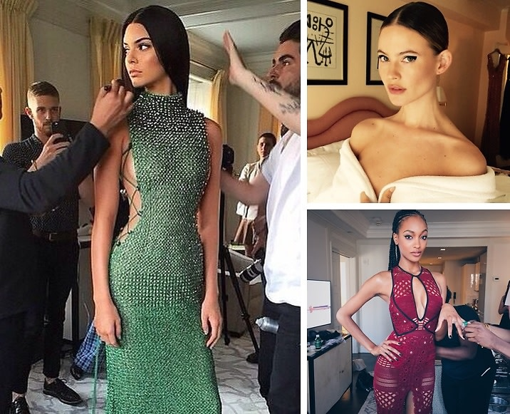 Instagram Round Up: Stars Get Glam Before The 2015 Met Gala