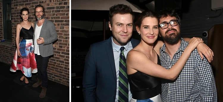 Guy Pearce & Cobie Smulders Attend A Screening Of Their New Film 'Results'