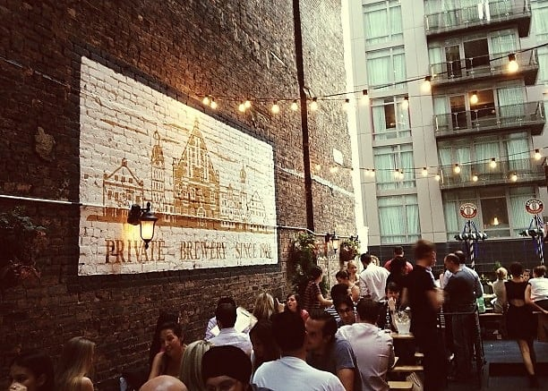 The Best Outdoor Happy Hour Spots In NYC