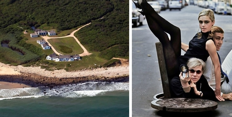 Andy Warhol's Oceanside Montauk Estate Is On The Market For $85 Million