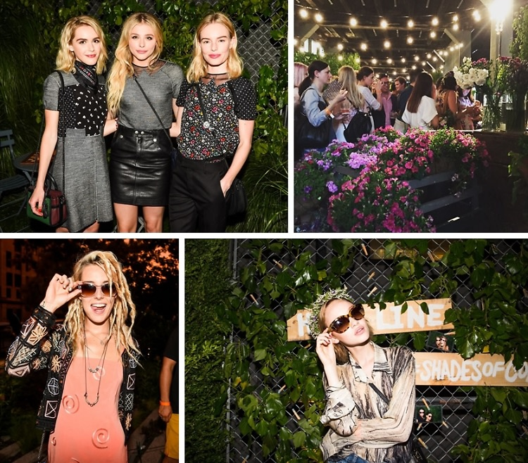 Kate Bosworth & Chloe Grace Moretz Celebrate Summer With Coach & The High Line
