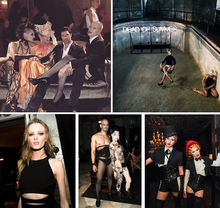 Inside The Haunting NARS x Steven Klein Takeover Of The Alder Manor