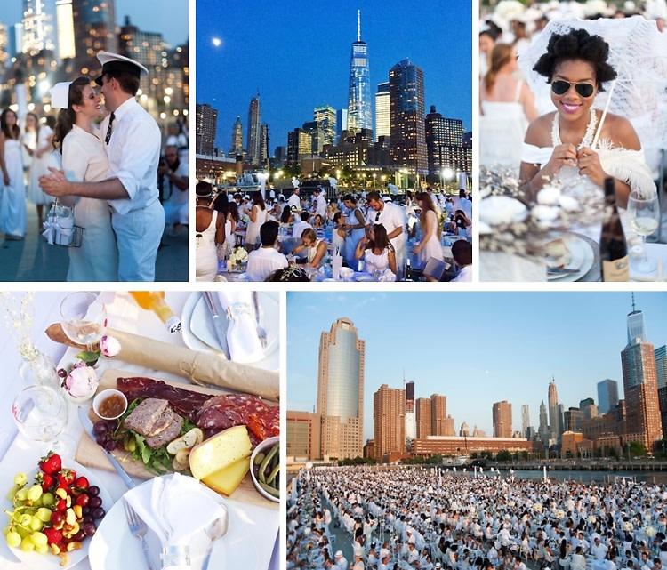 Diner En Blanc NYC: Inside The Secret Tribeca Dinner Party