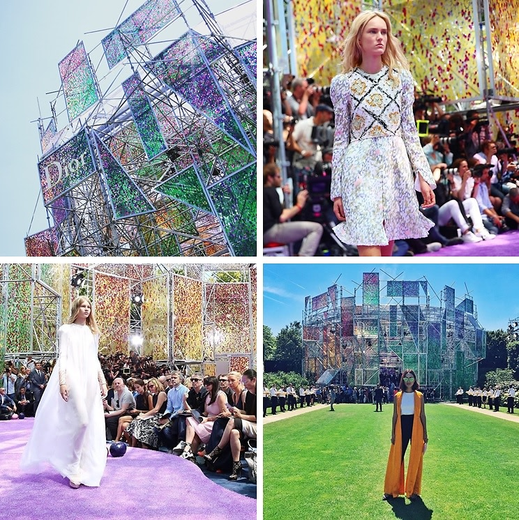 Instagram Round Up: Inside The Dior Haute Couture Show 2015