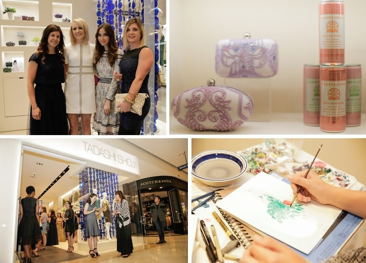Inside The Tadashi Shoji South Coast Plaza Re-Opening