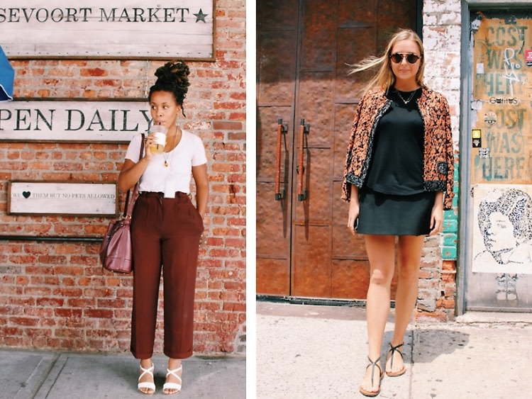 NYC Street Style: Getting Glam At Gansevoort Market