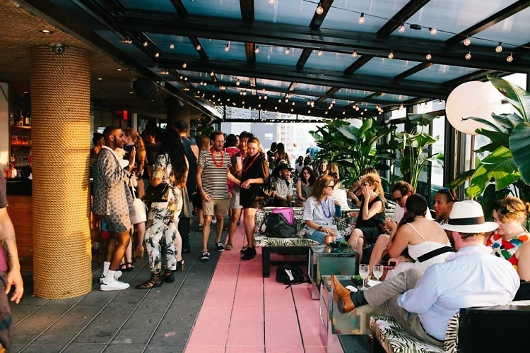 The Best New Outdoor Hotel Bars To Close Out Summer In NYC