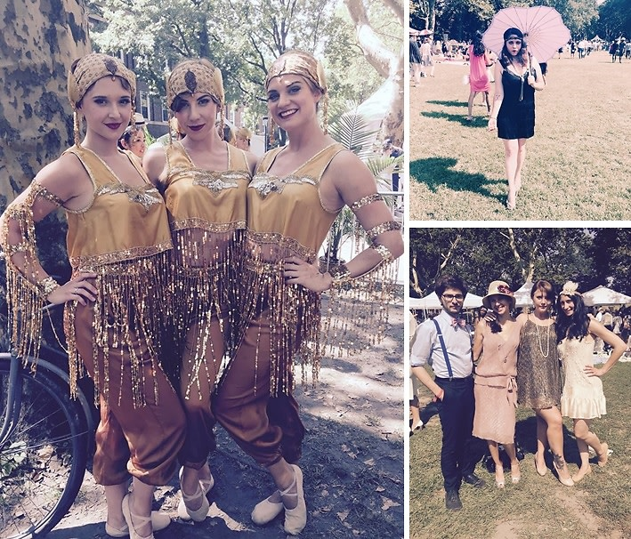1920s Street Style At The 10th Annual Jazz Age Lawn Party