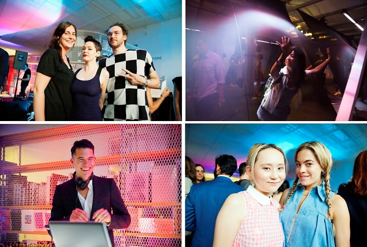 Rose McGowan, Chelsea Leyland & Matthew Dear Celebrate The Launch Of DELQA At The New Museum