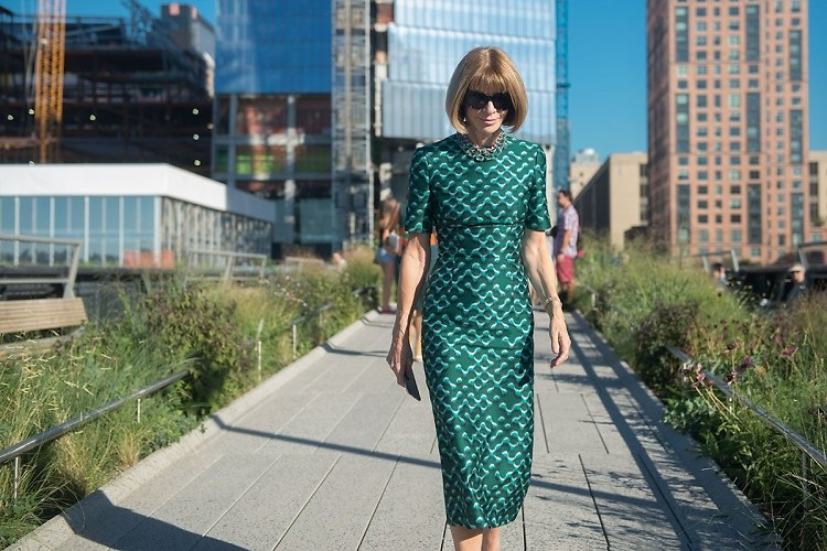 Fashion Week Street Style: Day 7 With Anna Wintour & Hailey Baldwin