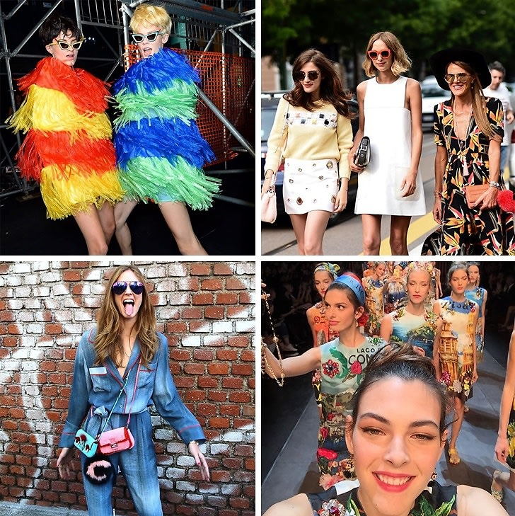 Instagram Round Up: The Best Of Milan Fashion Week SS16