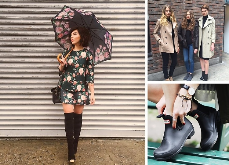 How To Stay Street Style-Ready In The Rain