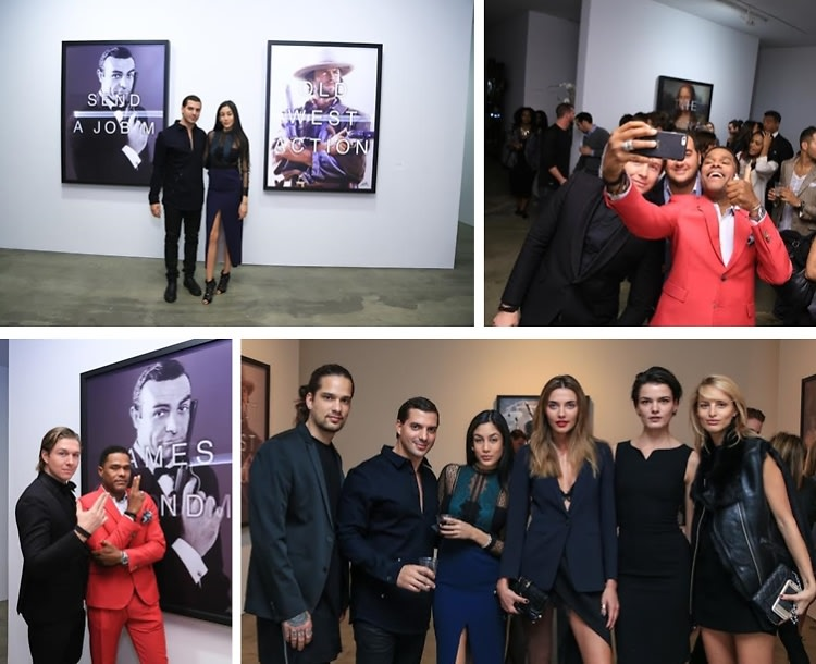 """Maxwell Hosts The Opening Night Of Massimo Agostinelli's """"Anagrams"""" Exhibition"""