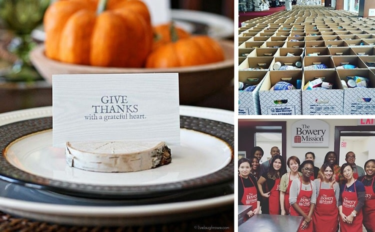 7 Ways To Give Back & Volunteer In NYC This Thanksgiving