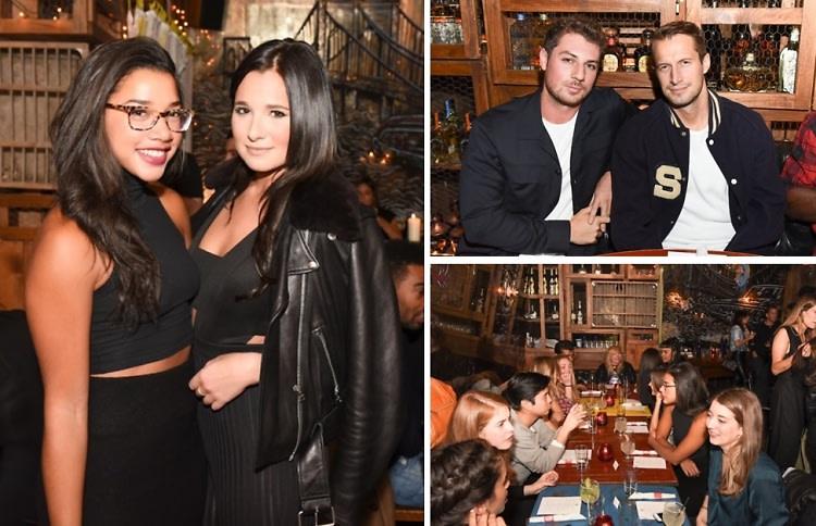 Hannah Bronfman & Wine'n Dine Host A Friendsgiving Dinner At La Esquina