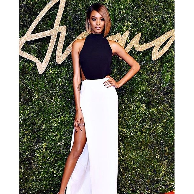 Jourdan Dunn in Mugler