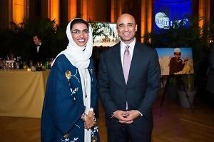 Noura Al Kaabi, Ambassador Yousef Al Otaiba