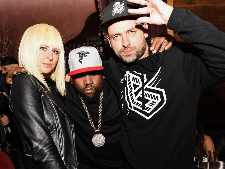 Big Grams Follows Their Concert With A Blowout Party At Rose Bar