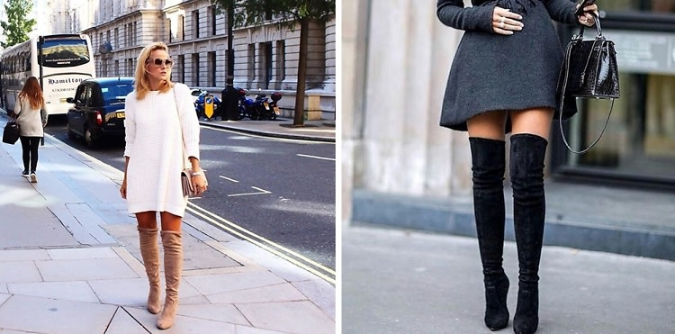 5 Ways To Wear Your Thigh High Boots This Season
